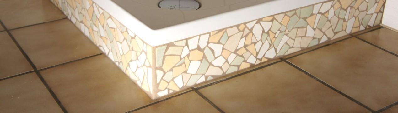 Fliesendesign: Mosaikfliesen Dusche